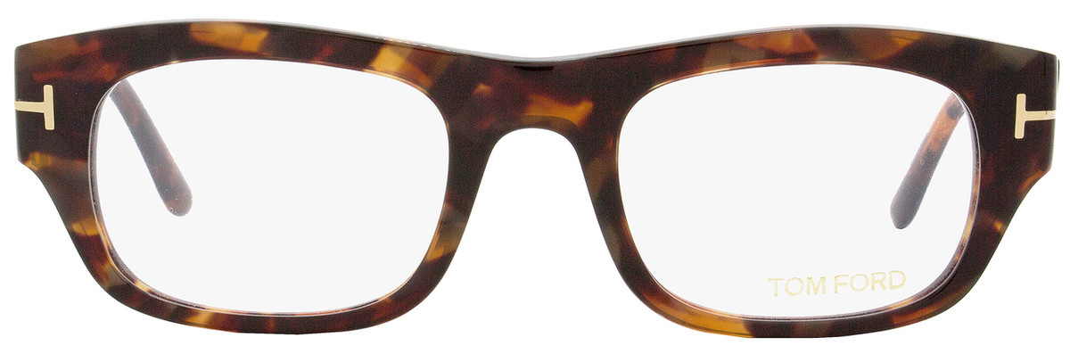 67cee45638ee Tom Ford Rectangular Eyeglasses TF5415 054 Size  50mm Red Havana Gold FT5415