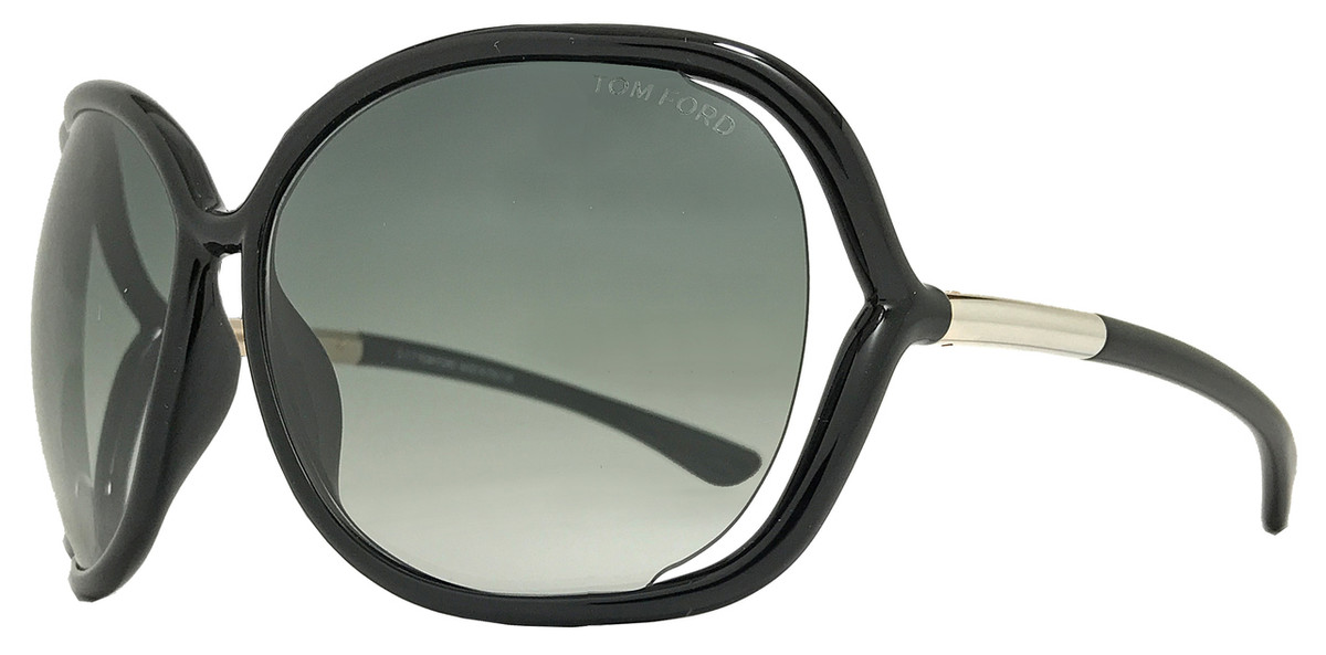 68735292c8051 Tom Ford Butterfly Sunglasses TF76 Raquel 199 Black Gold FT0076
