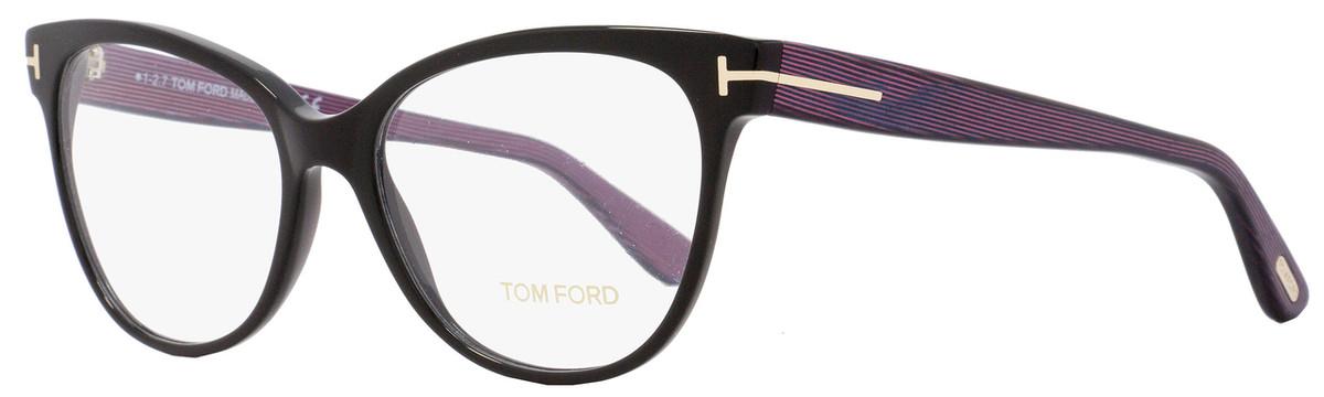 db12ad3117 Tom Ford Cateye Eyeglasses TF5291 005 Size  55mm Black ...