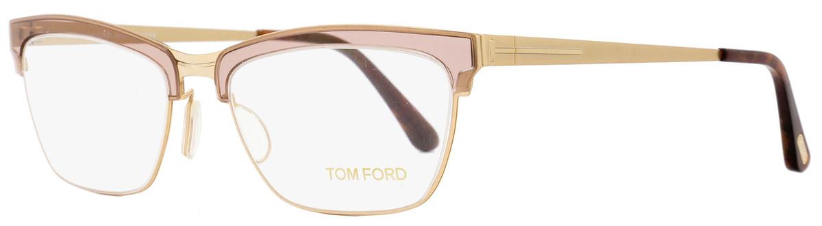 352d50ff44f Tom Ford Cateye Eyeglasses TF5392 050 Size  54mm Transparent ...