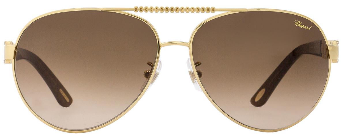 Rose Scha63s A63 Chopard Aviator Sunglasses Goldbrown 0h16 1lKFcJ