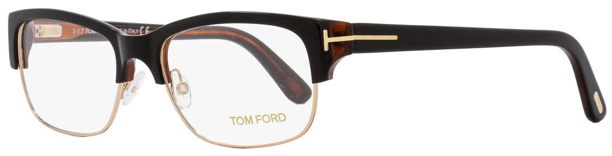 665ff57e9a39f Your cart.  0.00. Check out Edit cart · Home   Eyeglasses   Tom Ford   Tom  Ford Rectangular Eyeglasses TF5307 005 Size  52mm Black Havana Gold FT5307