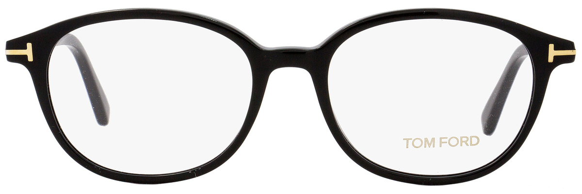 Tom Ford Oval Eyeglasses TF5391 001 Size  52mm Black Gold FT5391 1547956982e9