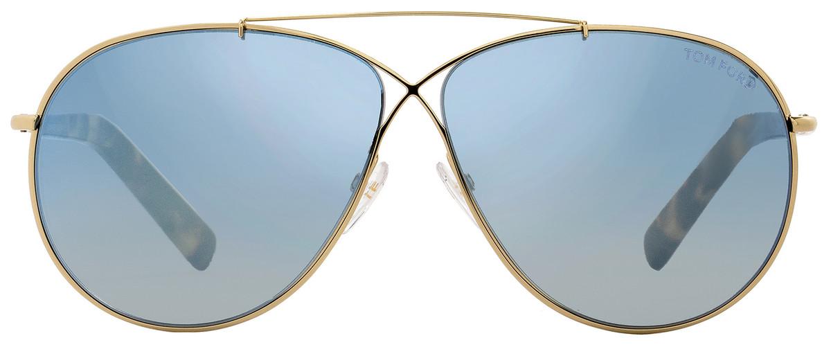 fa0b5bc2c1a Tom Ford Aviator Sunglasses TF374 Eva 28X Rose Gold Tortoise FT0374