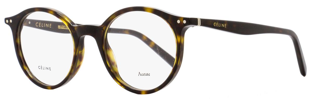 5dc7fd2eae6c5 Your cart.  0.00. Check out Edit cart · Home   Women   Women s Eyeglasses   Celine  Oval Eyeglasses CL41408 086 Size  47mm Dark ...