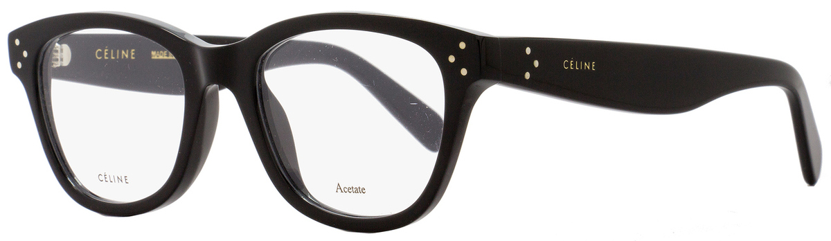 fca4180b3a Your cart.  0.00. Check out Edit cart · Home   Women   Women s Eyeglasses   Celine  Oval Eyeglasses CL41409 807 Size  49mm Black 41409