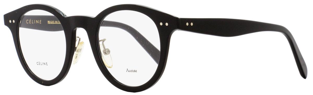d8a76769d04a3 Your cart.  0.00. Check out Edit cart · Home   Women   Women s Eyeglasses   Celine  Oval Eyeglasses CL41463 807 Size  45mm Black 41463