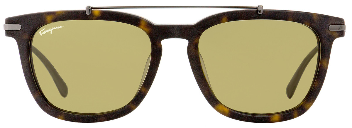 9dd248718f Salvatore Ferragamo Rectangular Sunglasses SF820S 213 Matte Havana Gunmetal  54mm 820