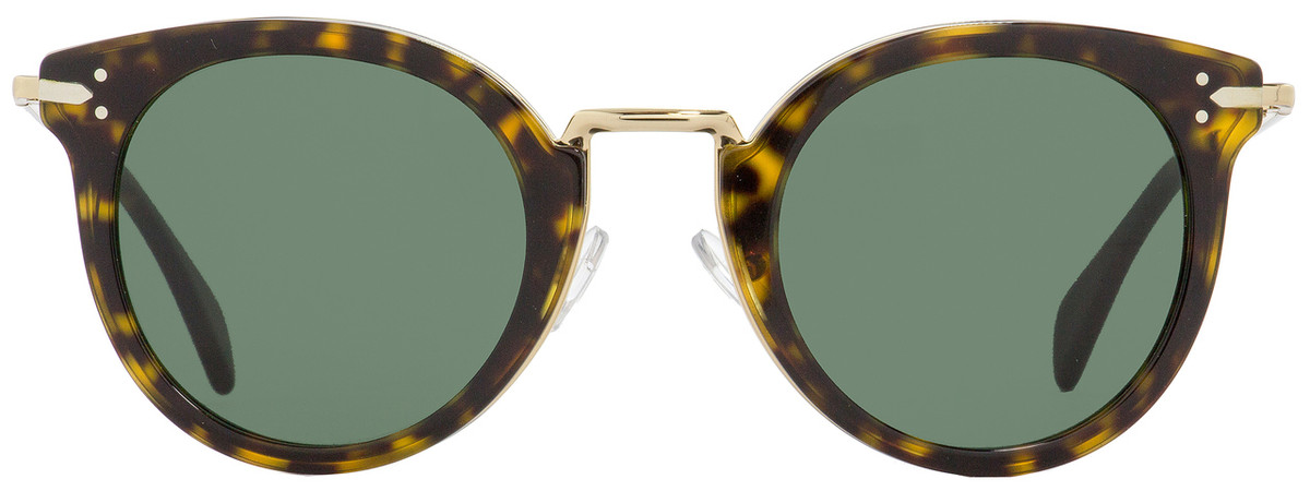 ebd24480caa0 Celine Oval Sunglasses CL41373S ANT85 Gold Havana 48mm 41373