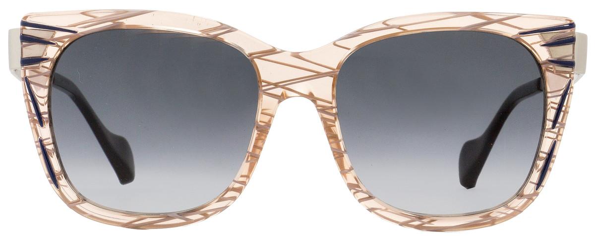 4706290dceeb Fendi Square Sunglasses FF0180S Kinky VDOVK Patterned Pink Palladium 54mm  180