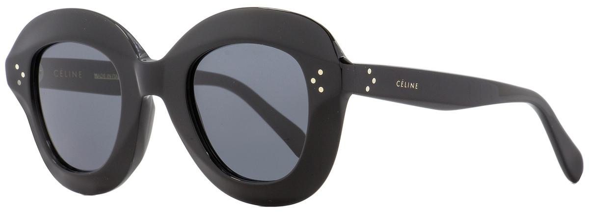 f1b0815c7798 Celine Square Sunglasses CL41445S 807IR Black 46mm 41445