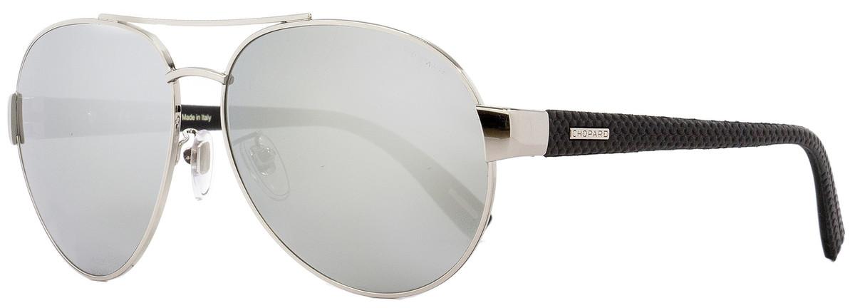 5c58792310 Chopard Aviator Sunglasses SCHB35V 579X Palladium 60mm B35