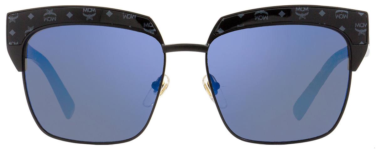 0441b00f34 MCM Square Sunglasses MCM102S 005 Matte Black Black Visettos 56mm 102