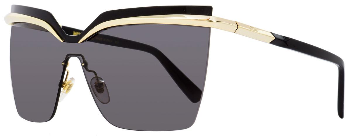 4caf4ecba3d8 MCM Shield Sunglasses MCM106S 717 Gold/Black 65mm 106