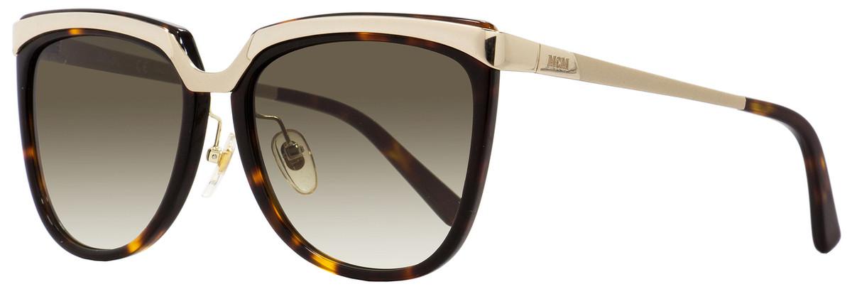 591928a95db6 MCM Square Sunglasses MCM626S 214 Gold/Havana 55mm 626
