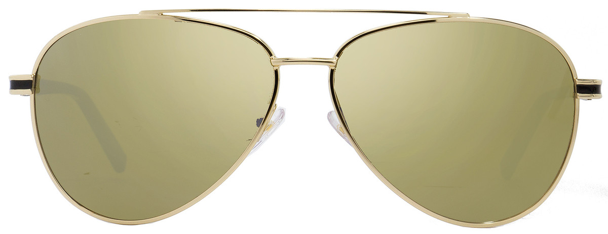 0d8db4a06 Montblanc Aviator Sunglasses MB702S 32L Gold/Black 59mm 702
