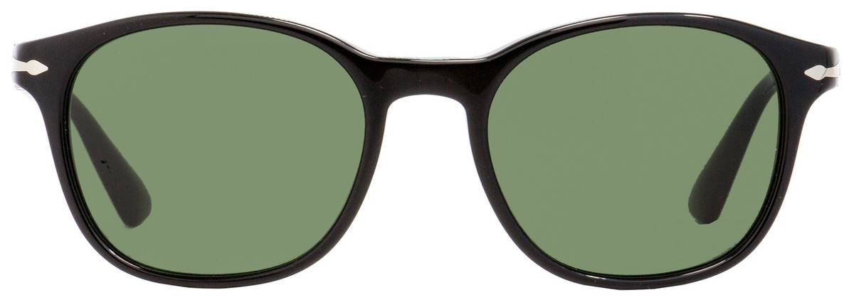 5782e50d0e2c4 Persol Rectangular Sunglasses PO3150S 95-31 Shiny Black 51mm 3150