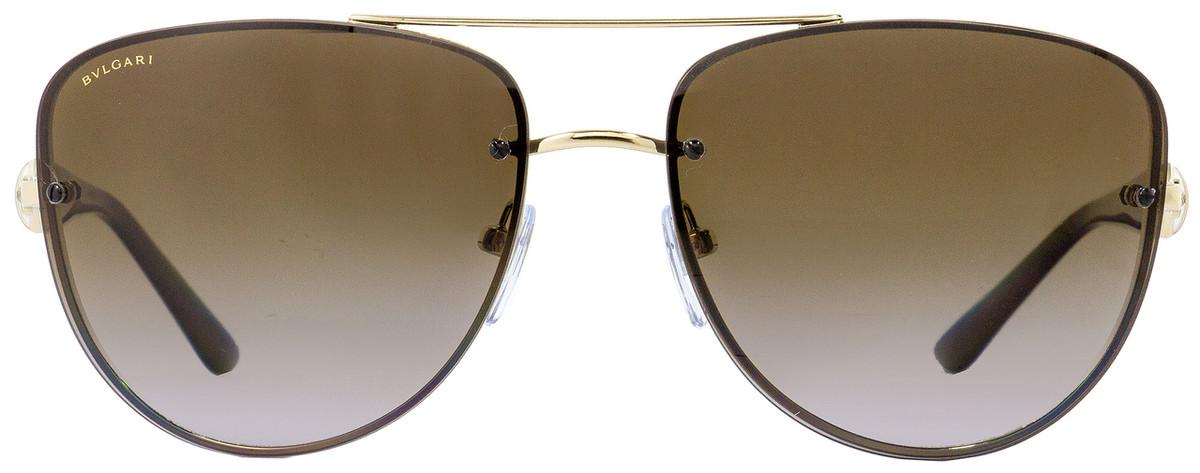 4b1fd7cdef Your cart.  0.00. Check out Edit cart · Home   Sunglasses   Bulgari   Bulgari  Rimless Sunglasses BV6086B 278-T5 Gold Havana Polarized ...