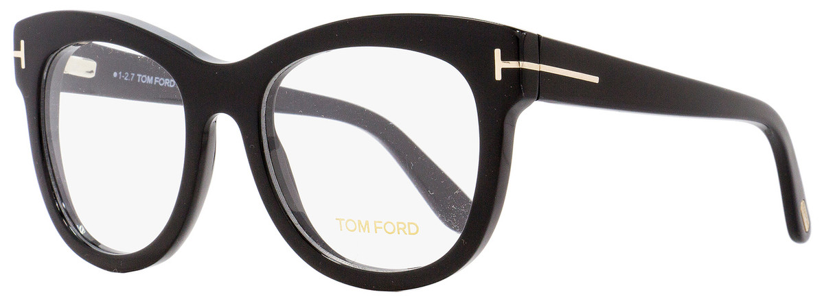 9698c7b0786a Your cart.  0.00. Check out Edit cart · Home   Eyeglasses   Tom Ford   Tom  Ford Oval Eyeglasses TF5463 001 Shiny Black ...