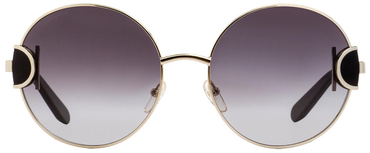 7063b9c23 Your cart. $0.00. Check out Edit cart · Home / Sunglasses / Salvatore  Ferragamo / Salvatore Ferragamo Round Sunglasses SF156S 703 Light Gold/Black  ...