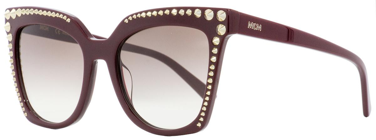 cd530d470 MCM Square Sunglasses MCM669S 602 Burgundy 55mm 669