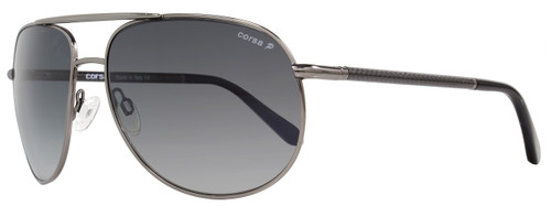 Corsa Aviator Sunglasses Marko C06 Gunmetal/Carbon Fiber Polarized
