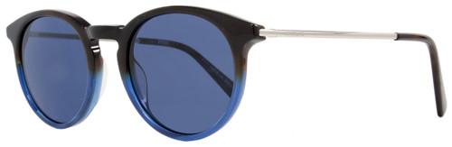 Montblanc Round Sunglasses MB549S 56V Dark Havana/Blue 549