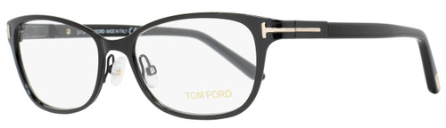 Tom Ford Rectangular Eyeglasses TF5282 005 Size: 52mm Shiny Black FT5282