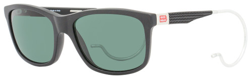Mille Miglia by Chopard Wayfarer Sunglasses SMM156 703P Matte Black Polarized 156