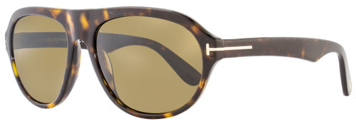 Tom Ford Oval Sunglasses TF397 Ivan 52J Havana FT0397