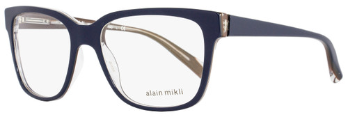 Alain Mikli Square Eyeglasses A03034 M0JV Size: 53mm Navy Blue/Clear 3034