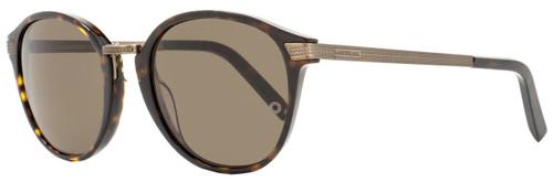 Montblanc Oval Sunglasses MB424S 52J Size: 52mm Dark Havana 424
