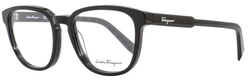 Salvatore Ferragamo Oval Eyeglasses SF2752 001 Size: 52mm Black 2752