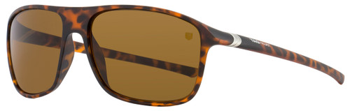 Tag Heuer Square Sunglasses TH6041 27° 211 Matte Tortoise 6041