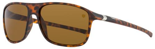 Tag Heuer Square Sunglasses TH6041 27° 211 Matte Tortoise 6041