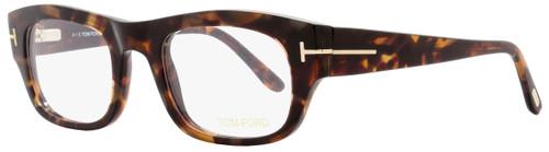Tom Ford Rectangular Eyeglasses TF5415 054 Size: 50mm Red Havana/Gold FT5415