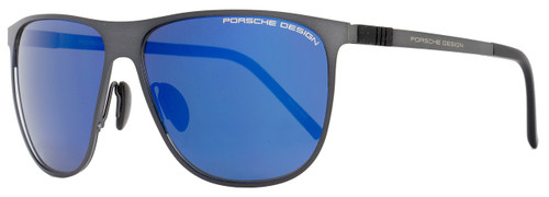 Porsche Design Rectangular Sunglasses P8630 A Palladium 58mm 8630