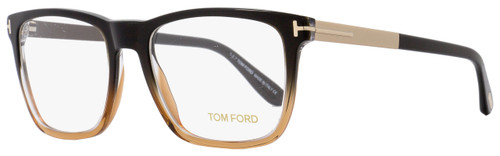Tom Ford Rectangular Eyeglasses TF5351 050 Size: 54mm Black/Brown/Gold FT5351