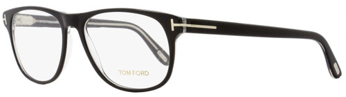 Tom Ford Oval Eyeglasses TF5362 005 Size: 55mm Black/Crystal FT5362