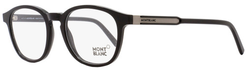 Montblanc Oval Eyeglasses MB632 001 Size: 50mm Black 632