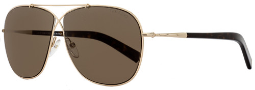 4e1f87498cc41 Tom Ford Square Sunglasses TF467 Justin 02N Black Rose Gold FT0467