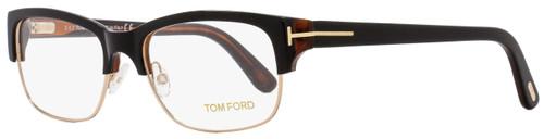 Tom Ford Rectangular Eyeglasses TF5307 005 Size: 52mm Black/Havana/Gold FT5307