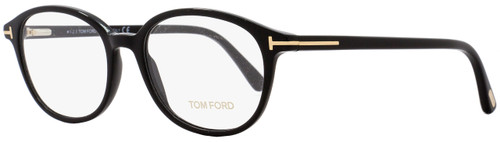 Tom Ford Oval Eyeglasses TF5391 001 Size: 52mm Black/Gold FT5391