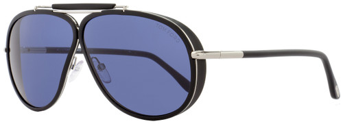 Tom Ford Aviator Sunglasses TF509 Cedric 02V Black/Palladium FT0509