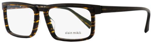 Alain Mikli Rectangular Eyeglasses A02016 2890 Size: 54mm Brown Striped/Black 2016