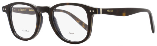 Celine Oval Eyeglasses CL41404 T9U Size: 47mm Dark Havana/Navy 41404
