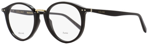Celine Oval Eyeglasses CL41406 807 Size: 48mm Black 41406