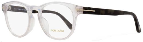 Tom Ford Oval Eyeglasses TF5426F 020 Size: 49mm Transparent/Gray Havana FT5426F