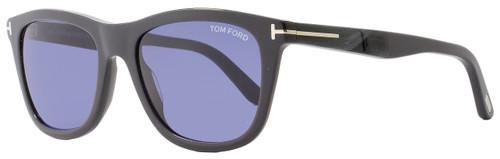e3df15ea8a Tom Ford Rectangular Sunglasses TF500 Andrew 20V Grey Horn FT0500