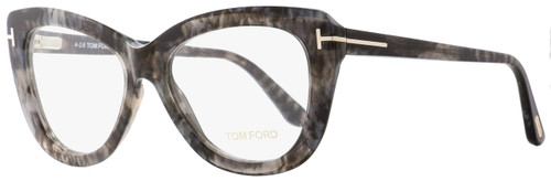 Tom Ford Butterfly Eyeglasses TF5414 055 Size: 53mm Gray Havana FT5414